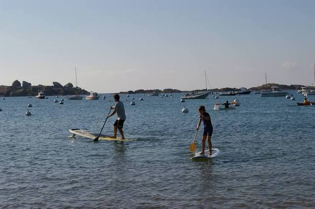 apprentissage en stand up paddle