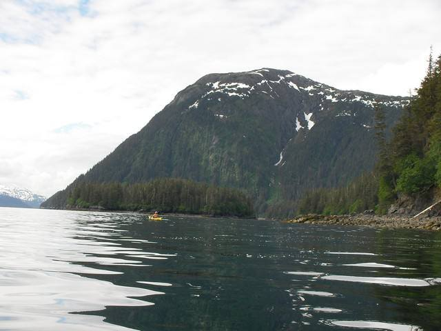 Expédition dans le golfe de Prince William Sound. Alaska