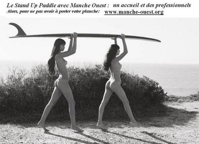 Manche Ouest stand up paddle