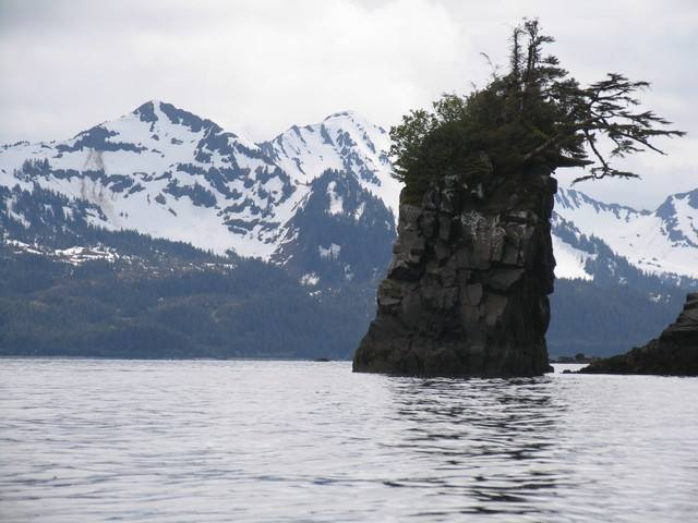 paysage du golfe de Prince William Sound. Alaska