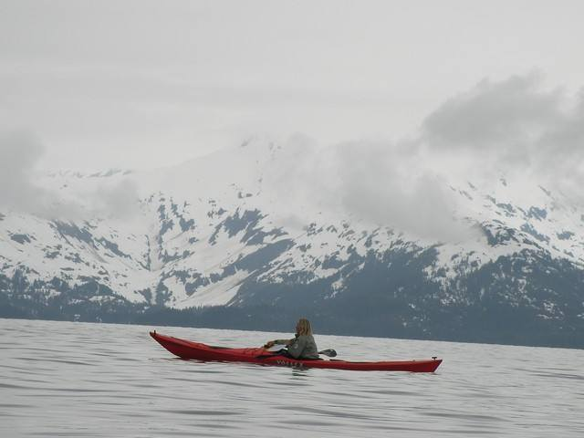photo dans le golfe de Prince William Sound. Alaska